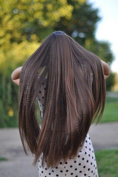 Фото девушка с длинными волосами со спины на аву в контакт 93